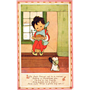 Raphael Tuck Postcard Nursery Rhymes series Mabel Lucy Attwell