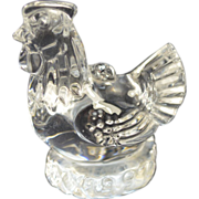 Waterford Crystal Christmas Hen Ornament