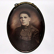 REDUCED WWI  Photograph of a Soldier in Uniform