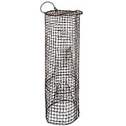 SALE Vintage 3 ft Tall Wire Fish Trap