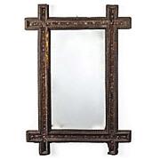 SALE Tramp Art Mirror from Germany