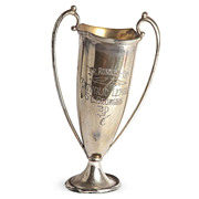 SOLD Silverplated Loving Cup Trophy, 1930
