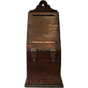 Vintage Ballot Box