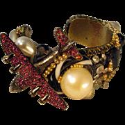1985 Wendy Gell Large Cuff Bracelet