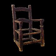 18th century American child's chair