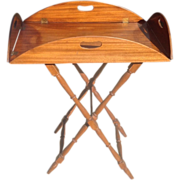 C. 1940 Butler's Tray and Stand
