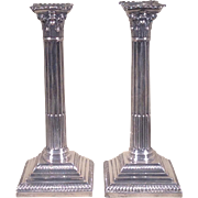 Early 20th c. British Sterling Candlesticks