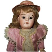 SOLD c.1910 Schoenhau&Hoffmeister 5000 Doll, Original Factory Dress - Red Tag Sale Item