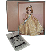 SOLD C.1959 AO in Box Madame Alex Cissette as Queen Elizabeth