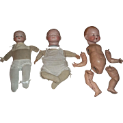 SOLD 2 Dream Babies and 1 Bye Lo to Put Together/Repair