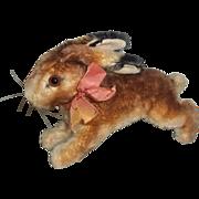 Mid century Steiff Running Bunny in Time for Spring