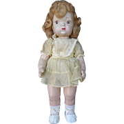 SALE Composition Terri Lee Doll with Mannequin Wig