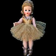 1959 Madame Alexander Gold Cissette Ballerina Beautiful Doll All Original