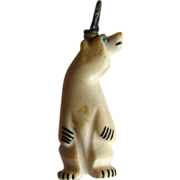SOLD Zuni bear fetish by Arnie Calavaza