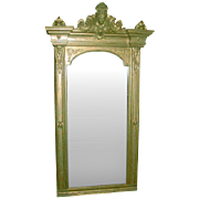 Large Ornate Victorian Mirror