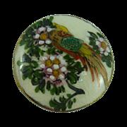 SALE Lovely Satsuma Bird Button
