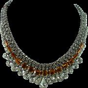 Beautiful Signed Hattie Carnegie Necklace