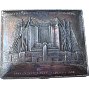 1933 World's Fair Metal Box