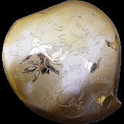 Rare Elgin American Vintage Cupid Compact