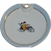 Nice  child dish  circa 1930 in limoges