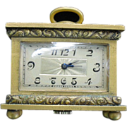 SOLD Early 20th Century Miniature Carriage Clock