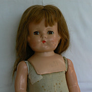 SOLD Rare and HTF Effanbee Patsy Lou Composition and cloth 1930's. - Red Tag Sale Item