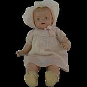 SOLD Big Hug Me Kiddie Pal Dolly all original Tin eyes, shoes,socks and sweet.