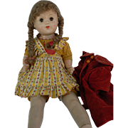 SOLD Composition Mama Doll all original 21 inches tall and cute.