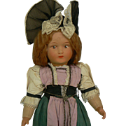 Vintage 40's Switzerland Doll all original and cute.