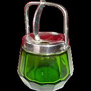 Miniature Doll House Sugar bowl Jam pot