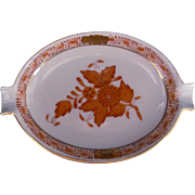 Herend Chinese Bouquet Ash Tray Ashtray Antique Early Mark