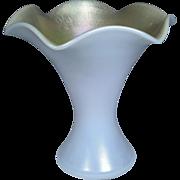 Steuben Gold Aurene & Calcite Vase