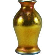 Carder era Steuben Gold Aurene Vase Shape No. 238