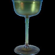 Louis Comfort Tiffany Favrile Champagne Glass