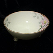REDUCED Nippon Hand Painted Three-footed Bowl