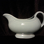 REDUCED Homer Laughlin Fiesta Periwinkle Sauce Boat -- Gravy Boat