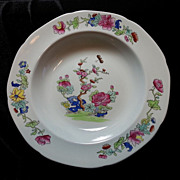 REDUCED Willis by Copeland Spode New Stone Rimmed Soup Plate