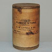 Sealed Apothecary Pumice Stone Powder Littell New York