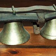 SOLD Graduated Brass Sleigh Bells