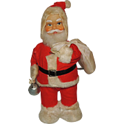 Alps Wind Up Mechanical Santa Toy Japan