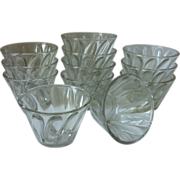 SOLD Hazel Atlas Individual  Jello Molds - set of 12