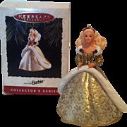 SOLD 1994 Hallmark Holiday Barbie Keepsake Ornament #2
