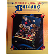 Antique & Collectible Buttons ~ ID & Value Guide ~ Debra J Wisniewski