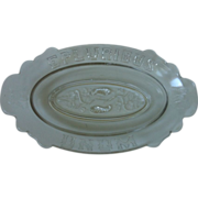 SALE Eapg Epluribus Unum Relish Dish Gillinder & Sons 1880's