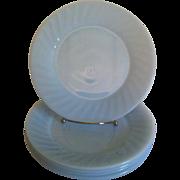 Fire King Azurite Swirl Dinner Plate
