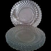 SALE Fostoria Colony Bread & Butter Plates set of 4