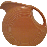 Apricot Fiesta Disk Pitcher