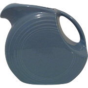 Periwinkle Fiesta Disk Pitcher