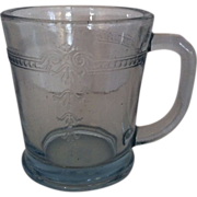 SOLD Fire King Philbe Sapphire Blue Mug