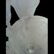 SALE Eight Fostoria Romance Water Stems